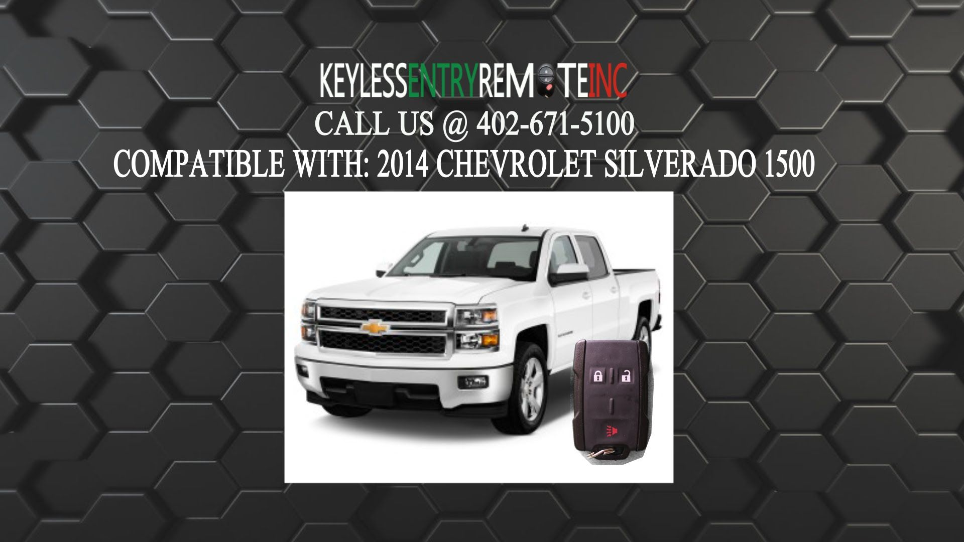 How To Replace A 2014 2016 Chevrolet Silverado Key Fob Battery