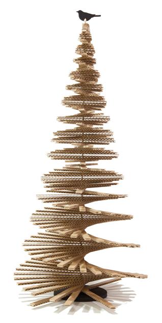 este precioso rbol reciclado se encuentra realizado a base de cartones recogidos ideal como mtodo ecolgico reciclado y reciclable - Arbol De Navidad De Carton