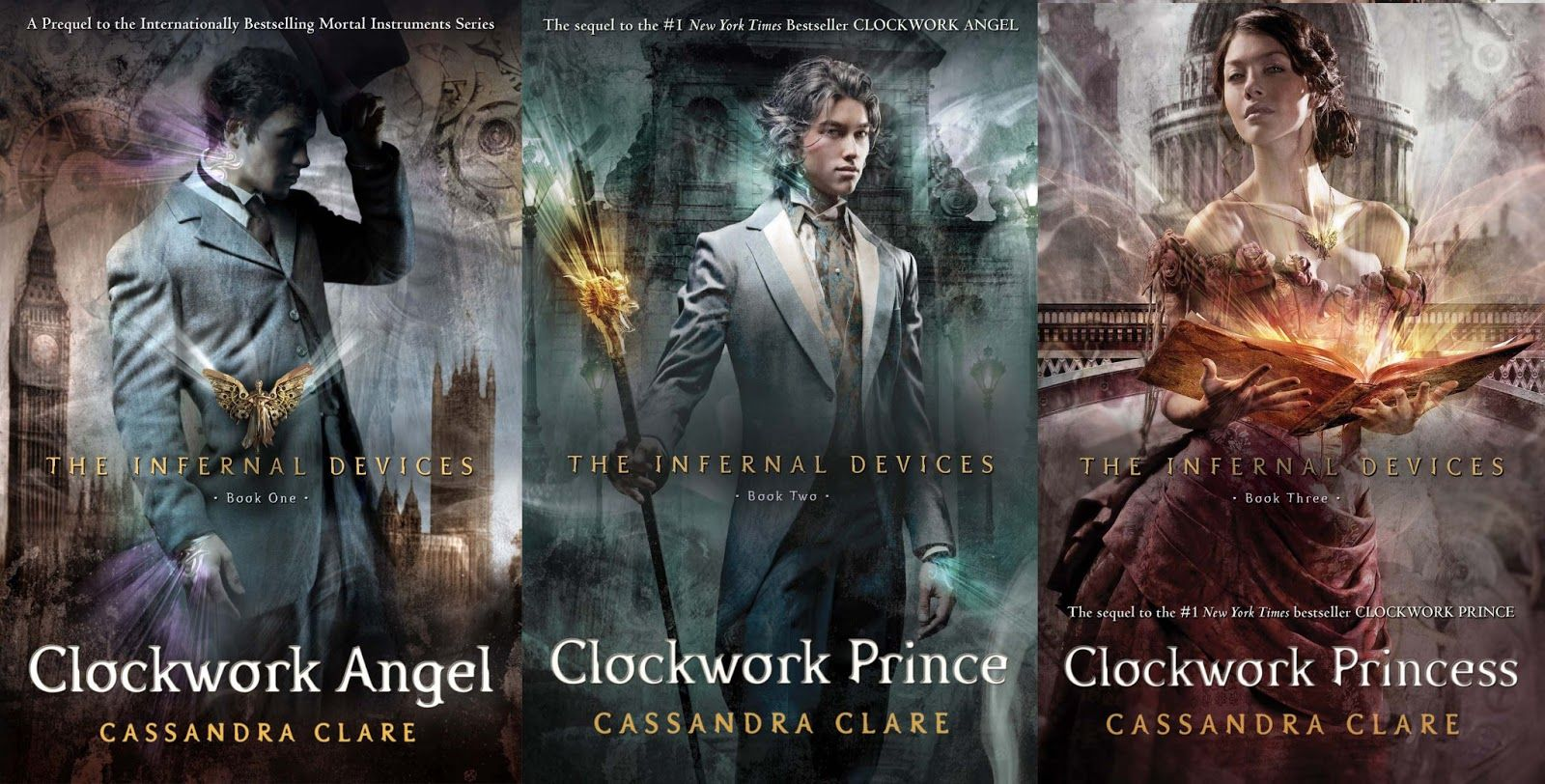 the infernal devices trilogy