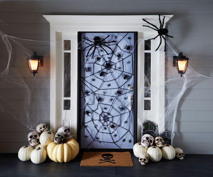 haunting halloween door decorations