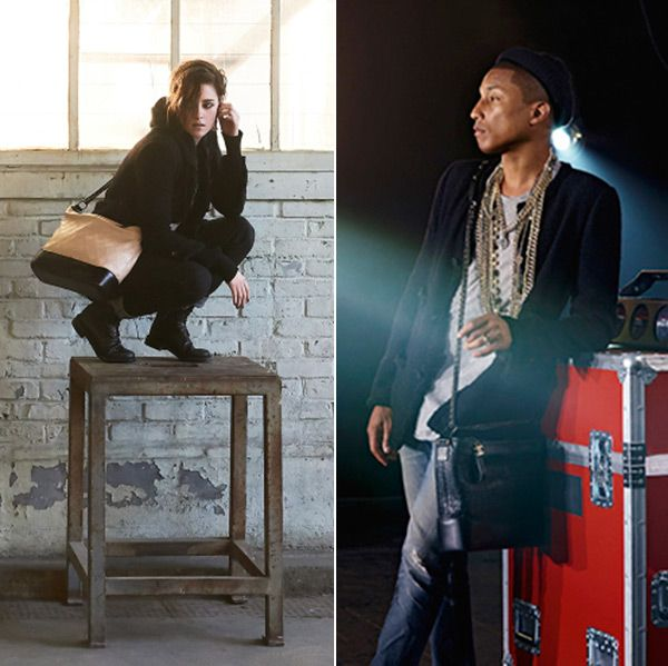 Not only is Pharrell Williams the first guy to ever land a Chanel handbag  campaign, but Kristen Stewart and Cara Delevingne also have brand new  campaigns, ...