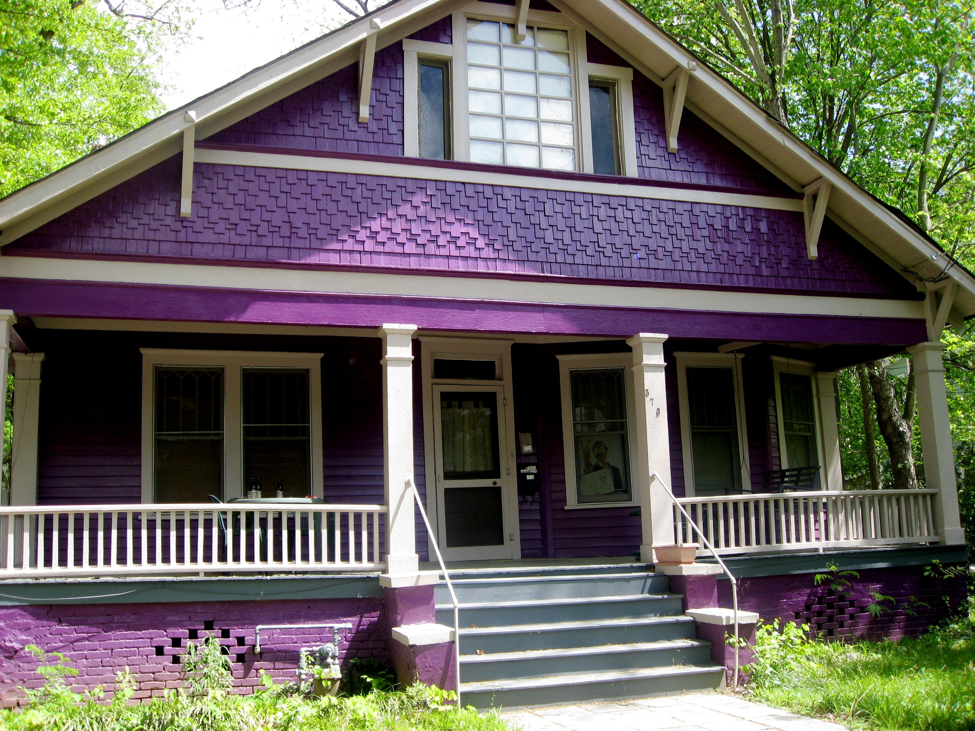 Image result for purple house