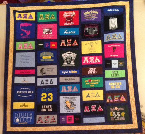 Custom TShirt Quilt Made to order Deposit Only by QuiltifyMe ... : t shirt quilt order - Adamdwight.com