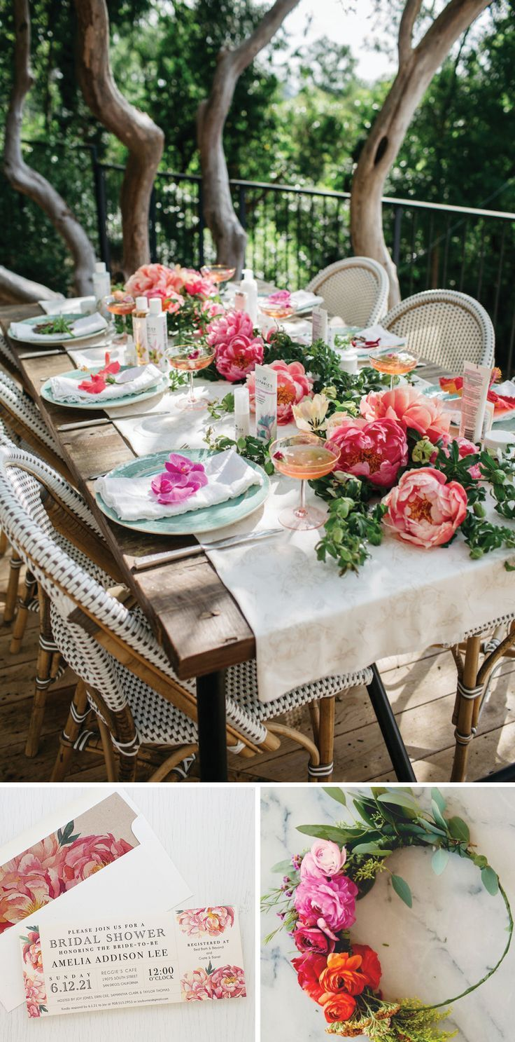 It's a Garden Party! Boho Bridal Shower Inspiration | Beacon Lane