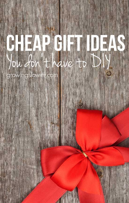 13 Affordable Gift Ideas You Don't Have to Make Yourself