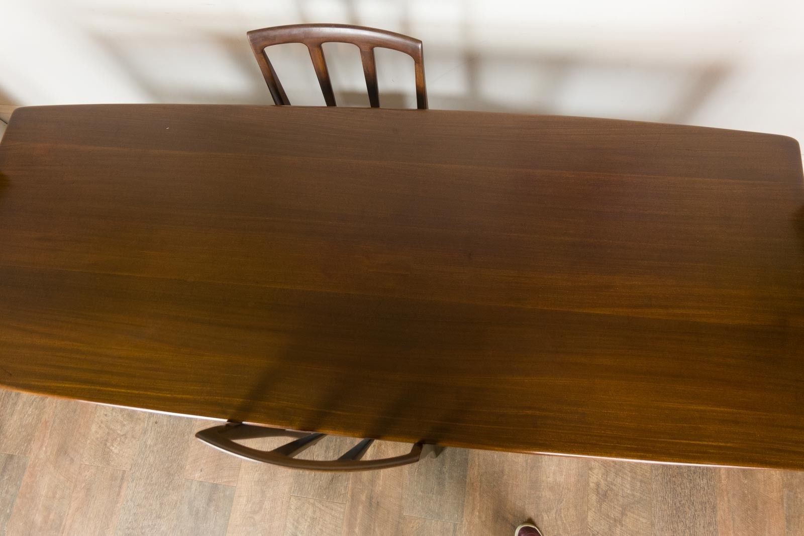 Vintage Retro Younger Afromosia Dining Table 4 Chairs 8