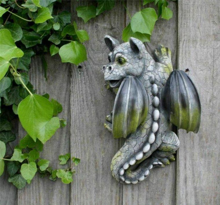Déco mur extérieur jardin : 51 belles idées à essayer