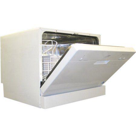 Sunpentown Countertop Dishwasher, White - Walmart.com
