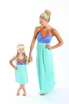Matching Mother Daughter Clothing Recherche Google Project Twins