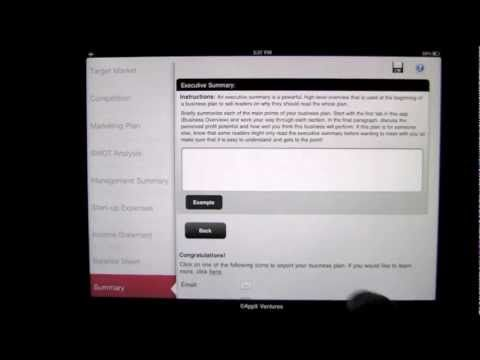 Business Plan Premier iPad App Review - CrazyMikesapps YOU TUBE I - self review template