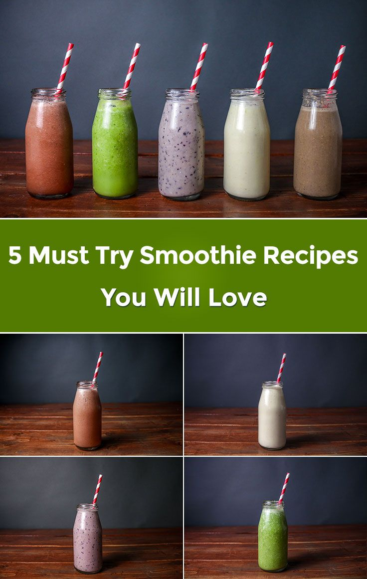 5 Must Try Smoothie Recipes You Will Love Video