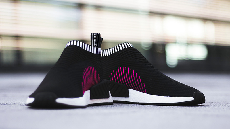 adidas NMD CS2 Core Black Pink 02 e32891d25