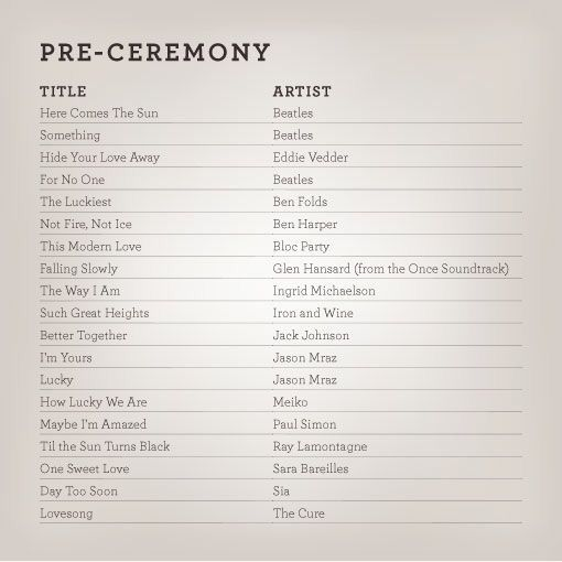 Pin by Jo Pearce on Wedding playlist ideas Pinterest Wedding