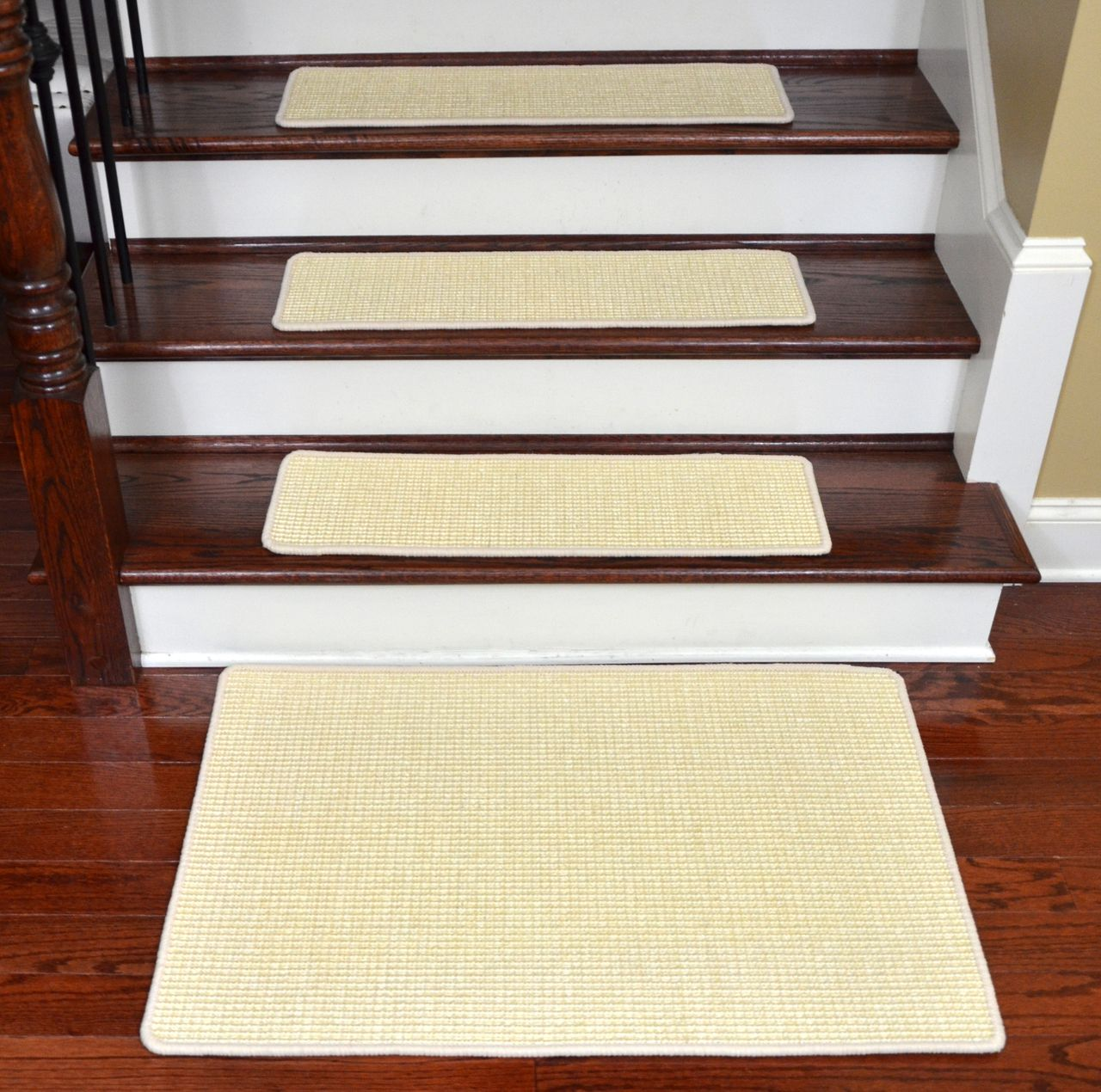 Best Dean Non Slip Tape Free Pet Friendly Stair Gripper Natural 400 x 300