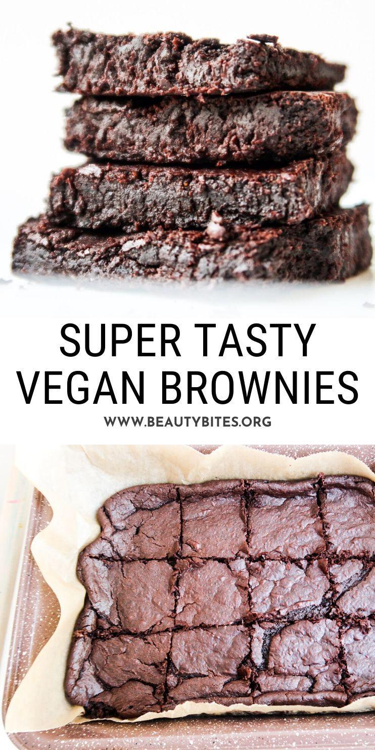 The Best Black Bean Brownies Vegan Gf Beauty Bites Recipe In 2020 Delicious Brownies Healthy Vegan Desserts Best Black Bean Brownie Recipe