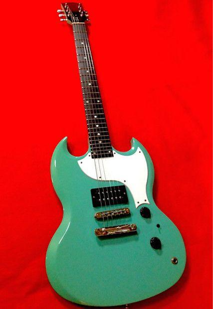 Gibson SG-X 1998 Summer beach Selies Carribean Blue | Reverb