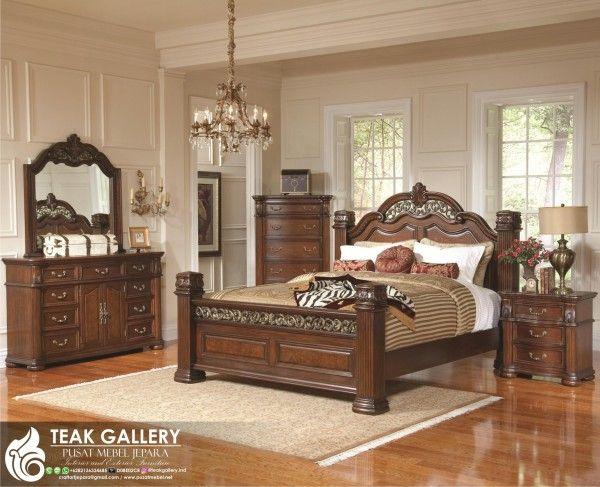 Tempat Tidur Klasik Modern Verlotta Desain Tempat Tidur