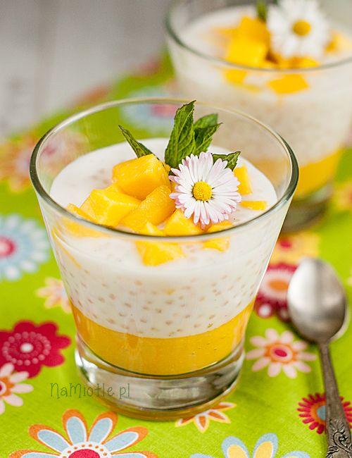 Deser Z Tapioka I Mango Nm4 Food Desserts In 2019 Dessert