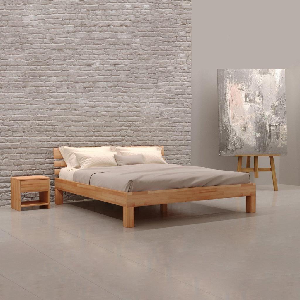 Massivholzbett Julia Buche Bett Massivholz Holzbetten Bett