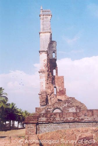 Tower of the Church of St. Augustine, side view