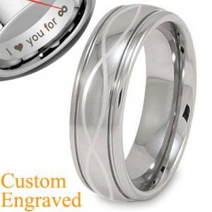 Mens Wedding Bands Infinity Would Love To Give Tim For 15 Year Anniversary
