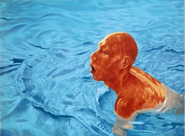 Fang Lijun, 'Untitled,' 2005, Burning in Water