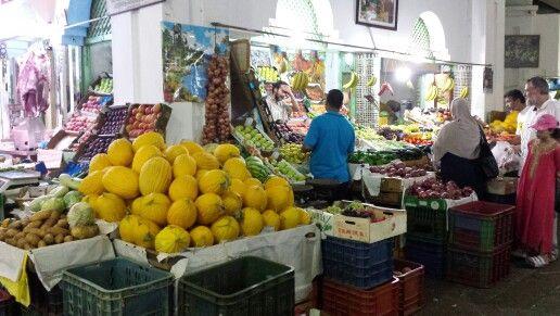 Market Assilah - Maroc