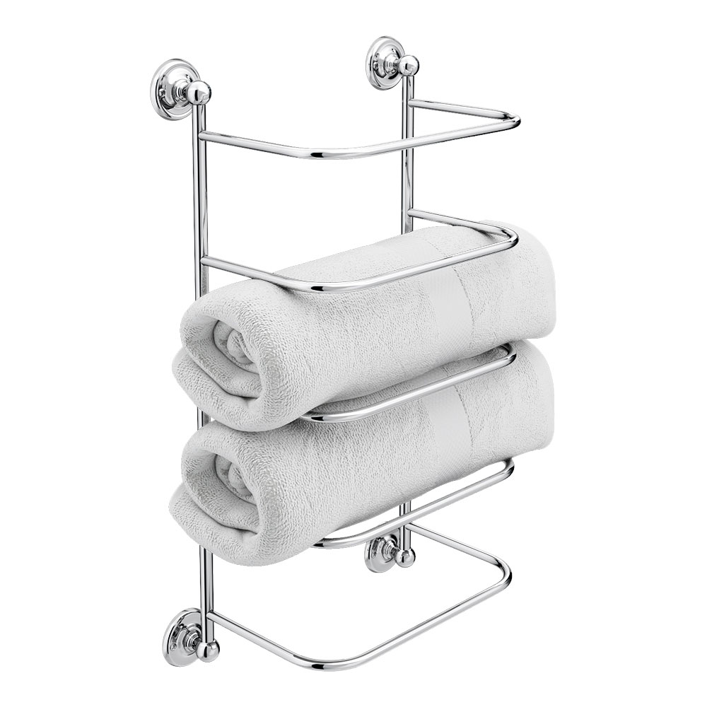 Chatsworth Traditional Towel Stacker | Victorian Plumbing ...