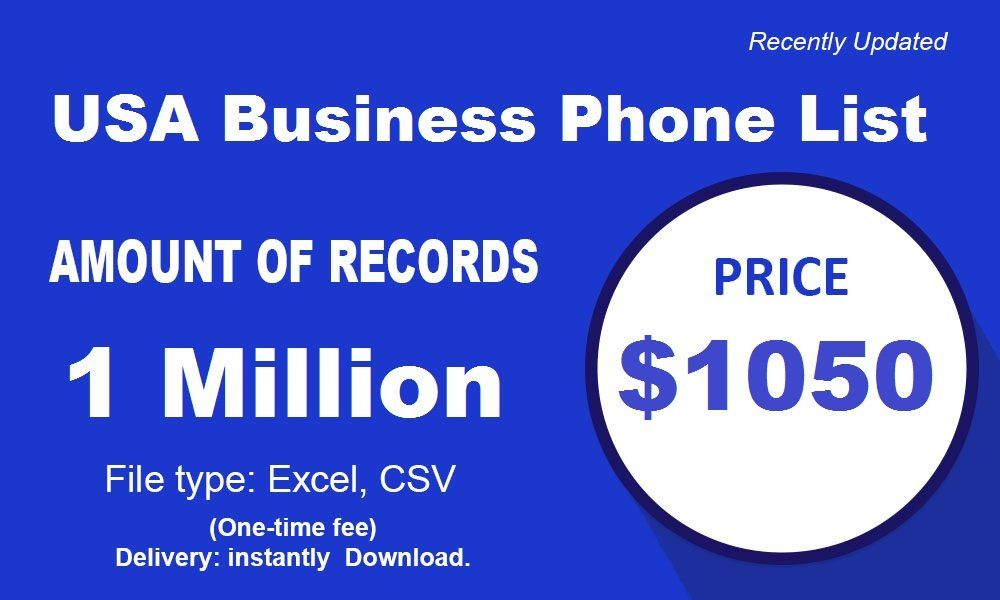 We Provide Usa Business Phone List Accurate Information About The
