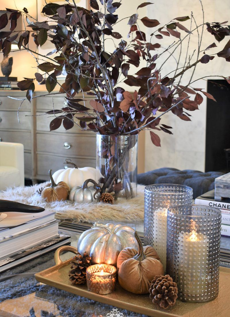 Creative Ideas for Fall or Thanksgiving Table Settings and Home Decor - Home with Holliday -   18 thanksgiving home decor ideas