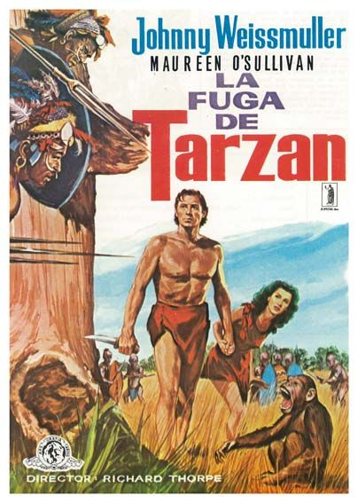 "La fuga de Tarzán (1936) ""Tarzan Escapes"" de Richard Thorpe, John Farrow - tt0028345"