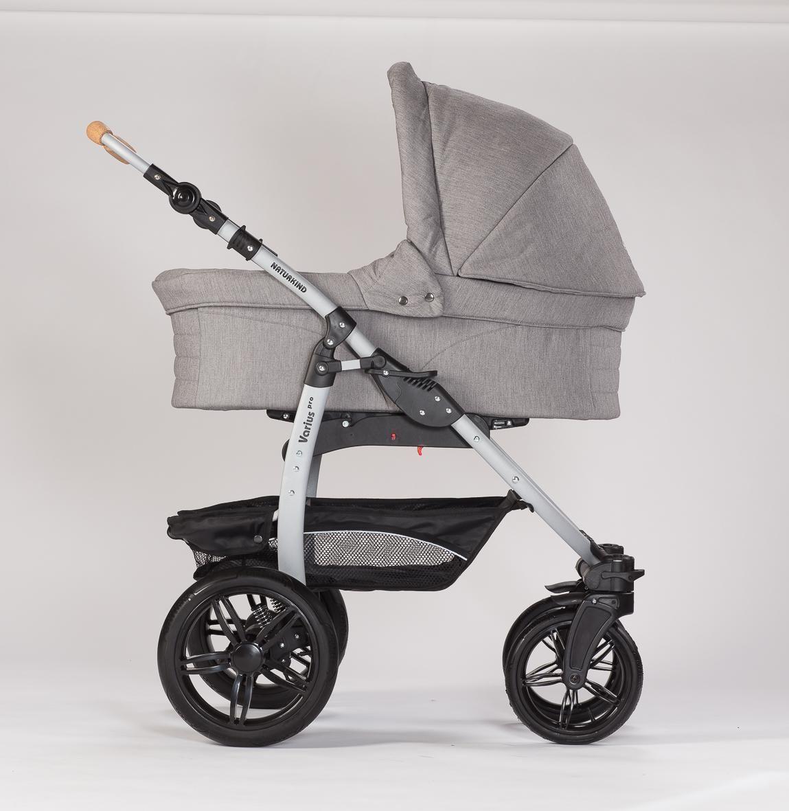 naturkind erstlingswagen siebenschl fer babykorb varius. Black Bedroom Furniture Sets. Home Design Ideas