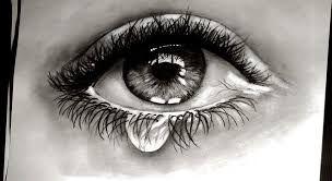 Afbeeldingsresultaat voor crying eye drawings