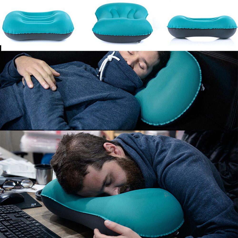 Mini Travel Pillow Ultralight Portable Air Inflatable