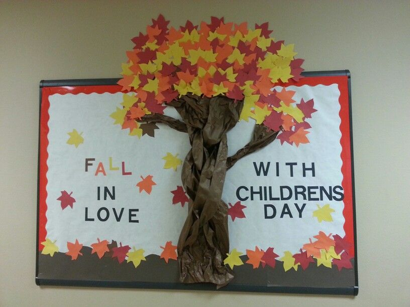 Ideas For Decoration Of Classroom For Children S Day ~ Bulletin board for children s day school ideas