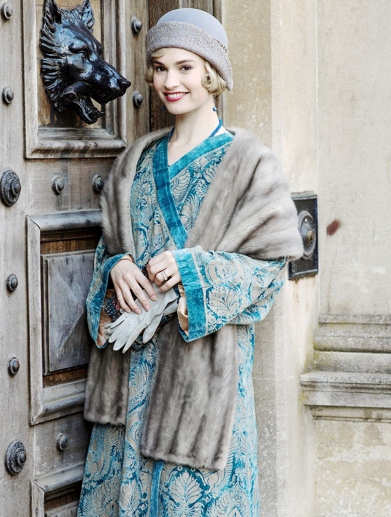 Lady Rose in the series finale of Downton Abbey | Costume Design ...