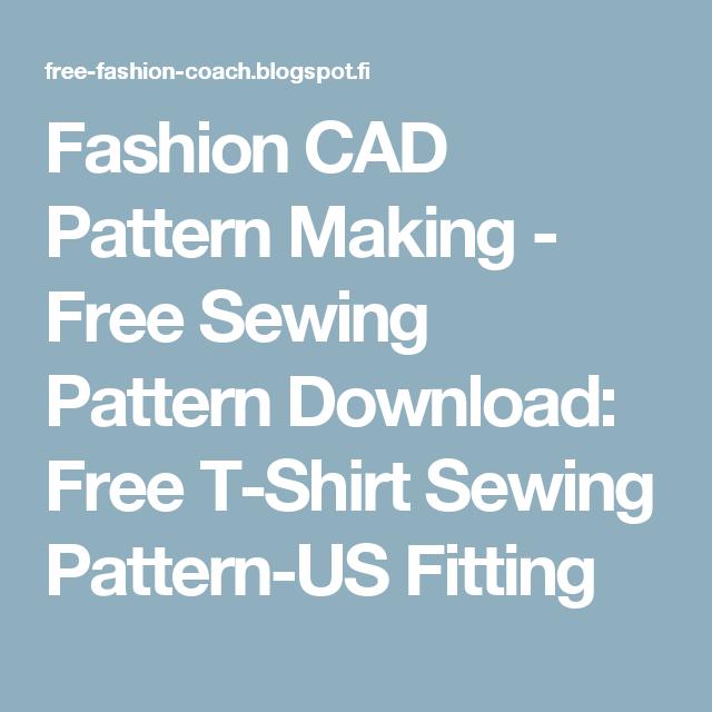 Fashion Cad Pattern Making Free Sewing Pattern Download Free T