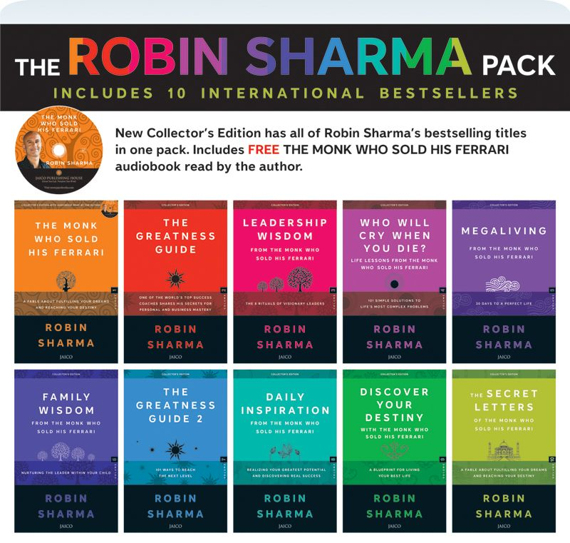 The robin sharma pack books collection pinterest robin sharma the robin sharma pack malvernweather Gallery
