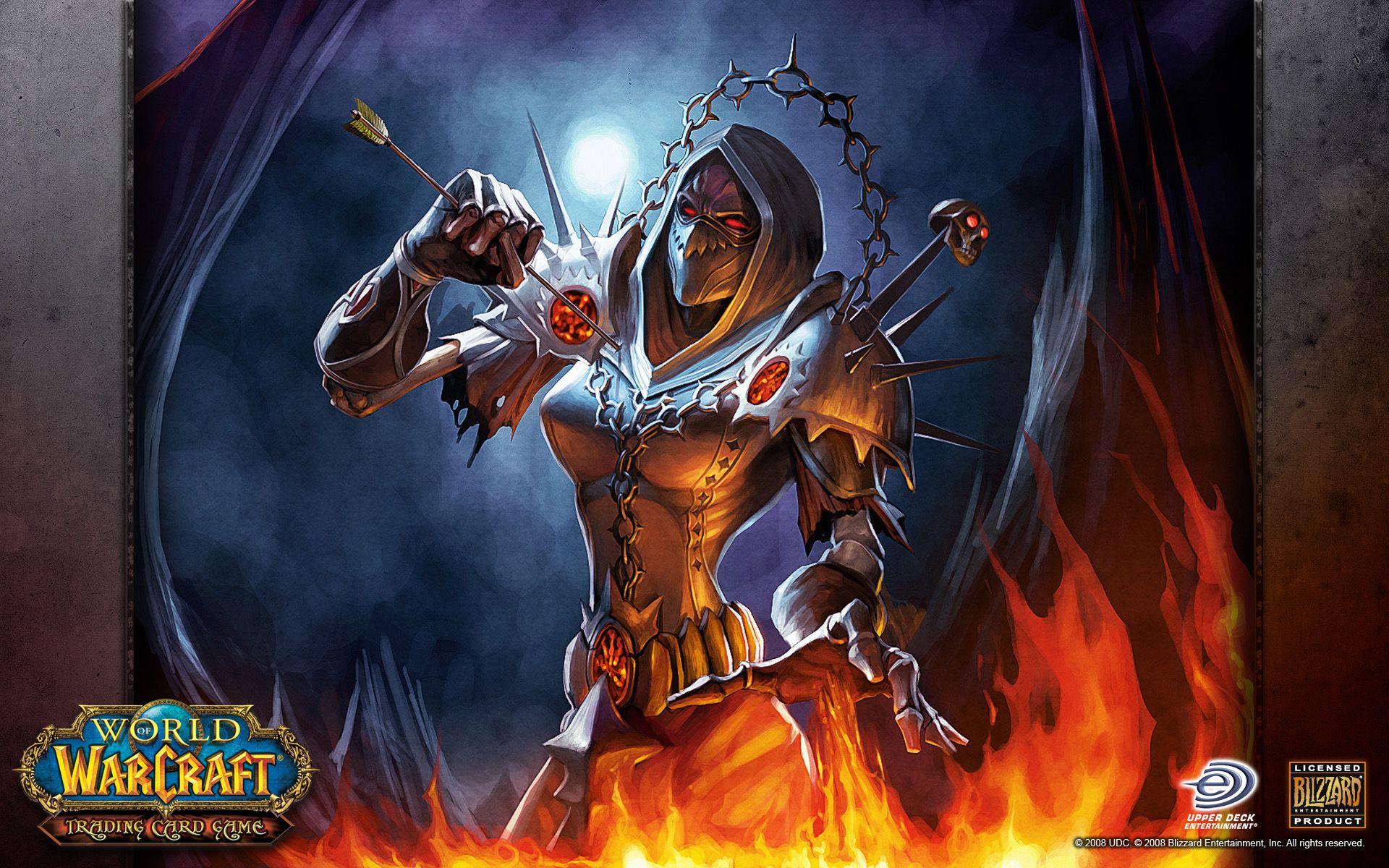 world of warcraft wallpapers warlock undead