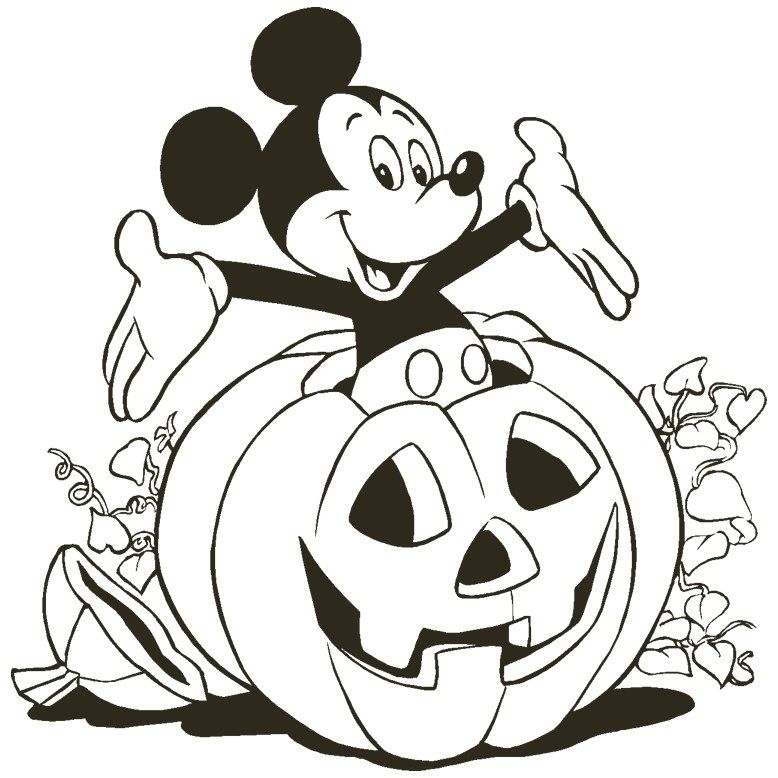 Free Disney Halloween Coloring Pages Free Halloween Coloring