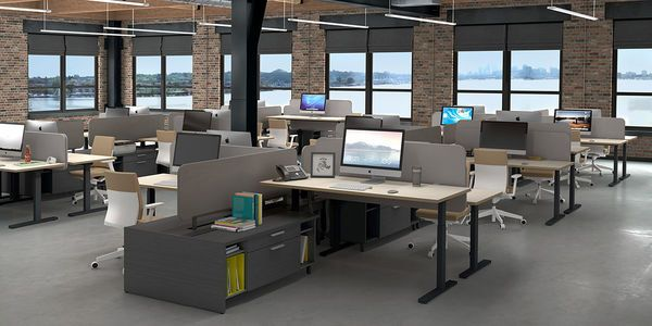 Modular Office Furniture Modern Workstations Cool Cubicles Sit