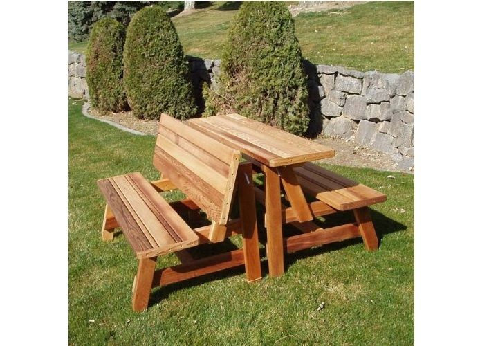 Bench And Picnic Table Combo Plans - Easy Craft Ideas