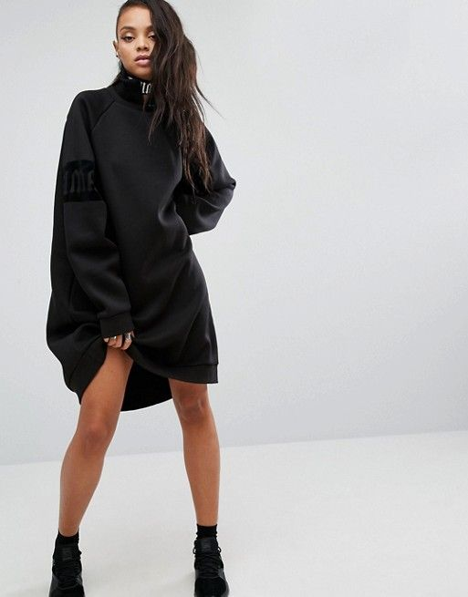 Puma Fenty X By Rihanna Oversized High Neck Sweat Dress