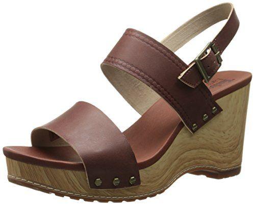 Timberland Women's EK Tilden Double Strap Gladiator Sandal, Light Brown Dry  Gulch, 7 M