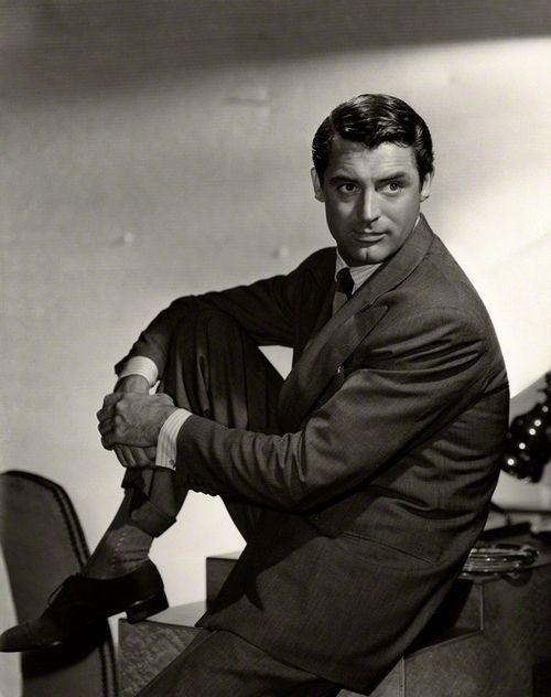 Cary Grant. Photo by Clarence Sinclair Bull, 1940.