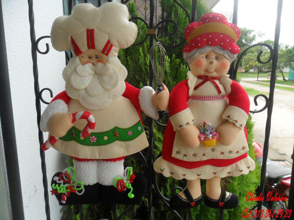 Decorar taller de manualidades abuelos navide os navidad pinterest navidad felting and santa - Manualidades para decorar en navidad ...