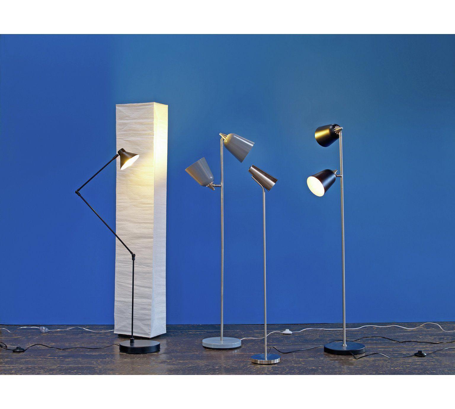 Buy Habitat Square Paper Floor Lamp At Argos Co Uk 163 30