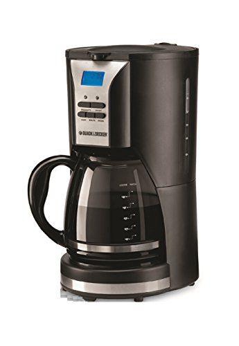 Black & Decker DCM90 1000W 12 Cup Coffee Maker Non USA pliant