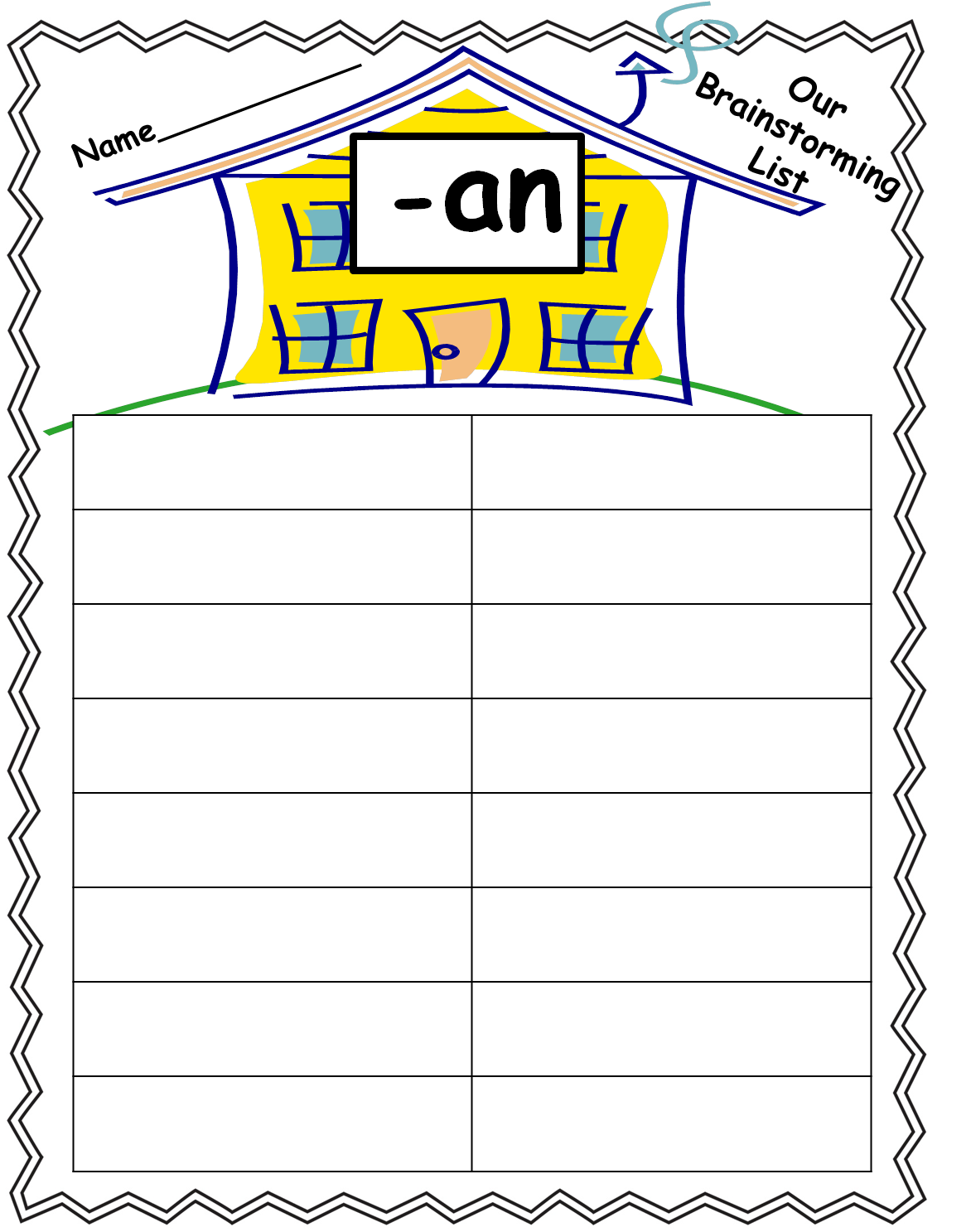 Daily 5 Anchor Charts For First Grade