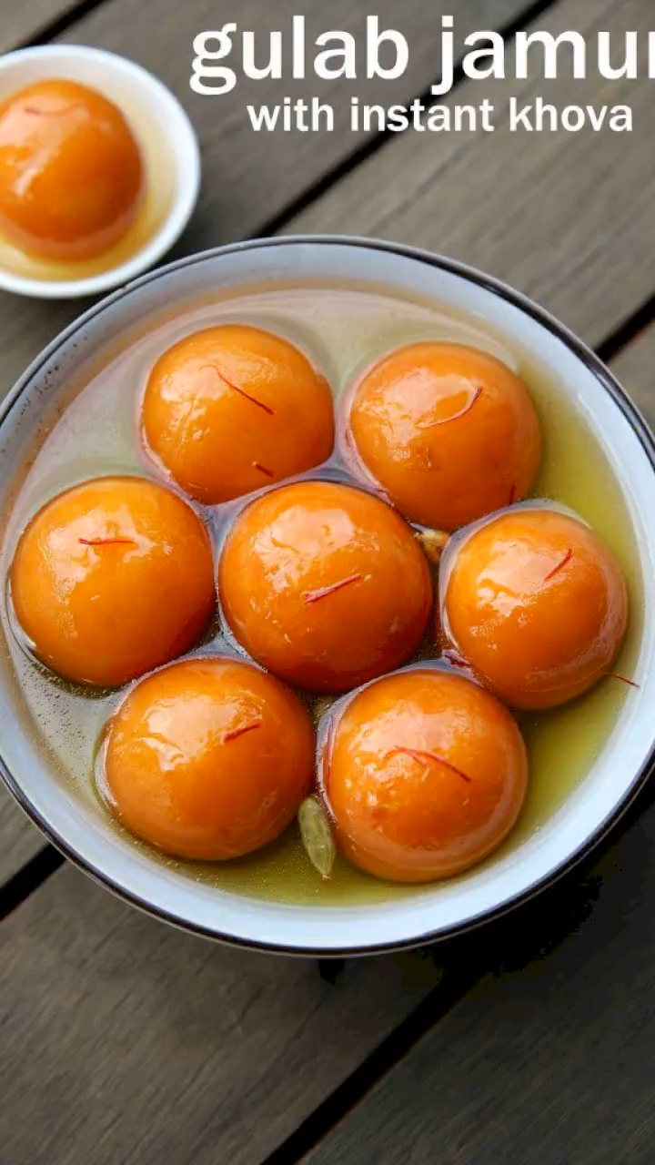 Gulab Jamun Recipe Gulab Jamun With Khoya Milk Powder Gulab Jamun Video In 2020 Indian Food Recipes Vegetarian Diy Food Recipes Foood Recipes